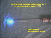 Оптическая насадка для женщин Г1 С со сменными диффузорами С Г3 С