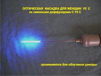 Оптическая насадка для женщин У5 С со сменными диффузорами С У5 С